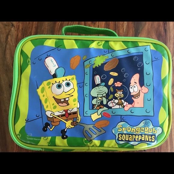 67664de4a SpongeBob SquarePants lunch box from 2000